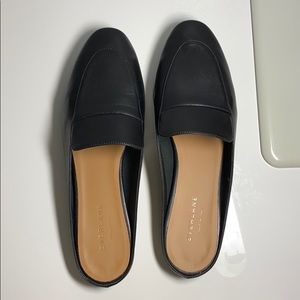 Everlane: The Day Loafer Mule (Black)